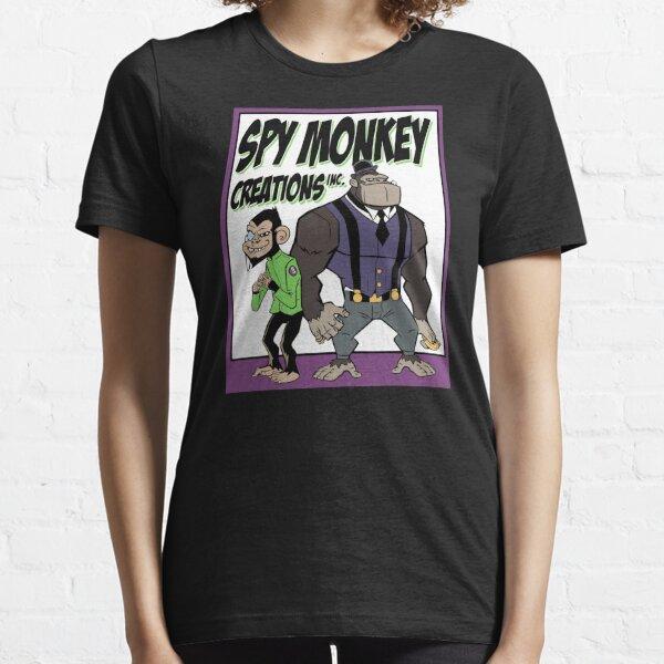 Spy Monkey Creations Inc Logo! Essential T-Shirt