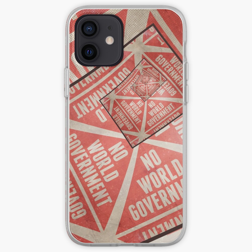 No World Government iPhone Case & Cover