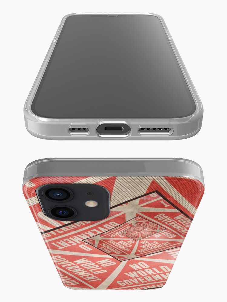 Alternate view of No World Government iPhone Case & Cover