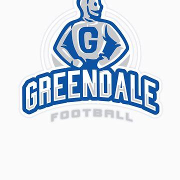 GreenDale Football by WinterArtwork
