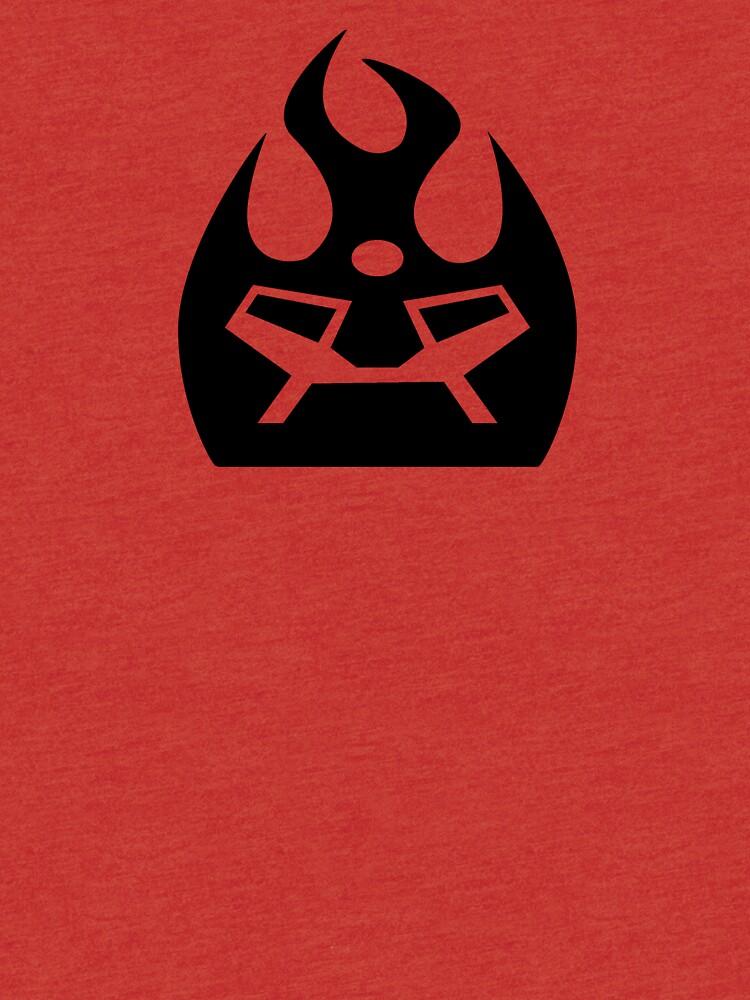 Lava Strike Force Emblem - Black by spymonkey