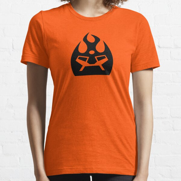Lava Strike Force Emblem - Black Essential T-Shirt
