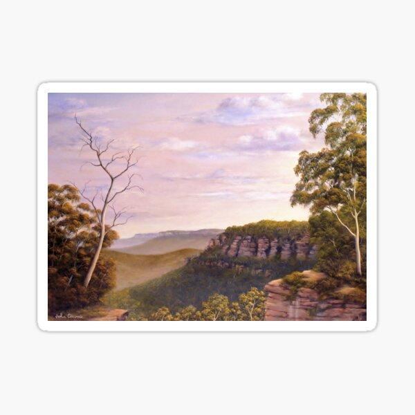Escarpments Edge Sticker