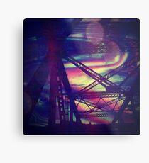 bridgeglitch Metal Print