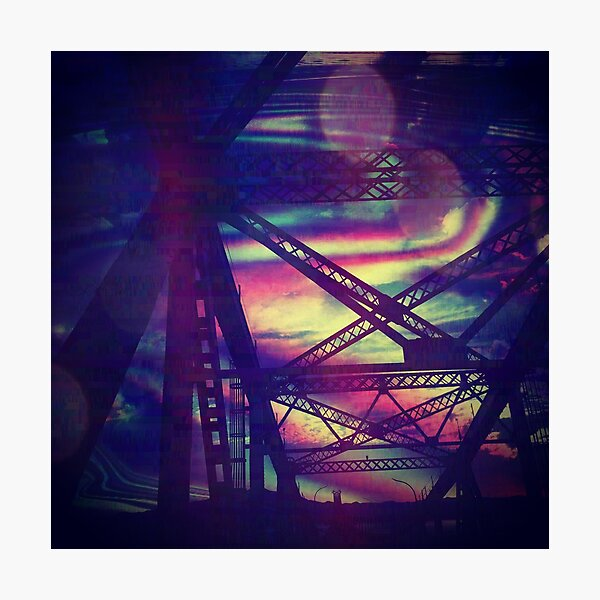 bridgeglitch Photographic Print