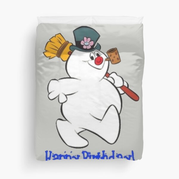 Christmas - Frosty the Snowman  Duvet Cover