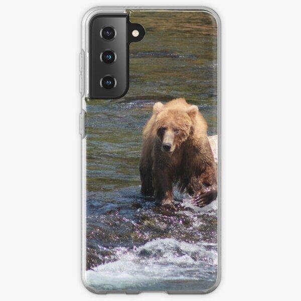 Bear #402 Out For a Stroll Samsung Galaxy Soft Case