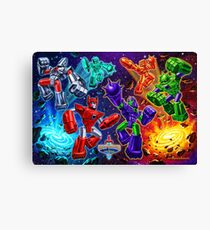 Weaponeers of Monkaa Epic Battle Canvas Print
