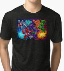 Weaponeers of Monkaa Epic Battle Tri-blend T-Shirt