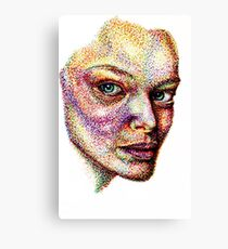 Face pointed Out  Canvas Print