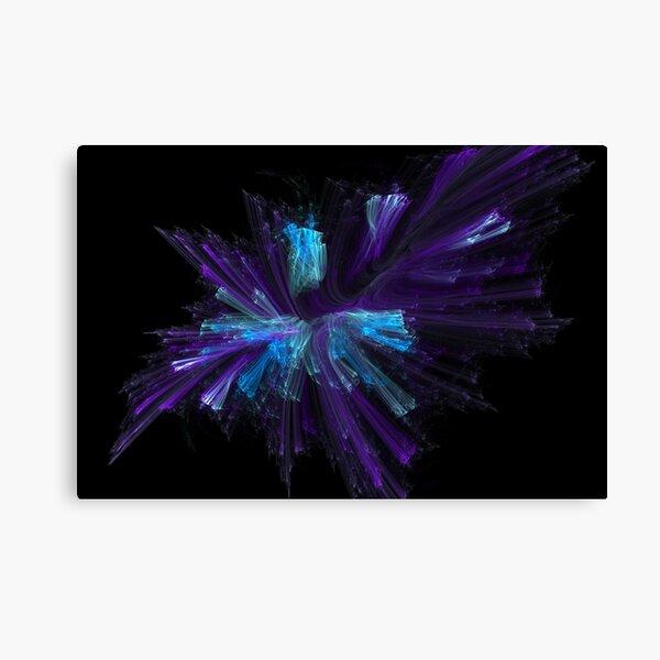 Blue Fiber Blues Canvas Print