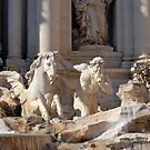Trevi Fountain - Detail by inglesina