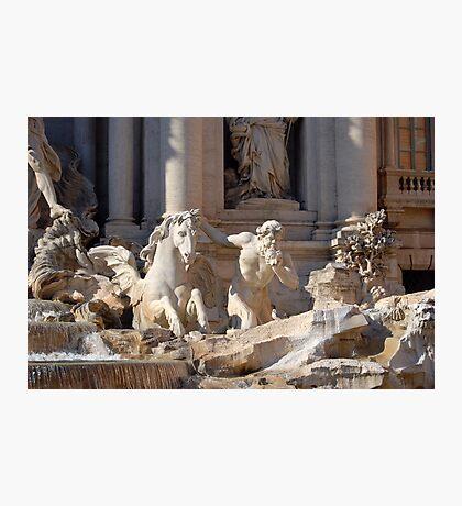 Trevi Fountain - Detail Photographic Print
