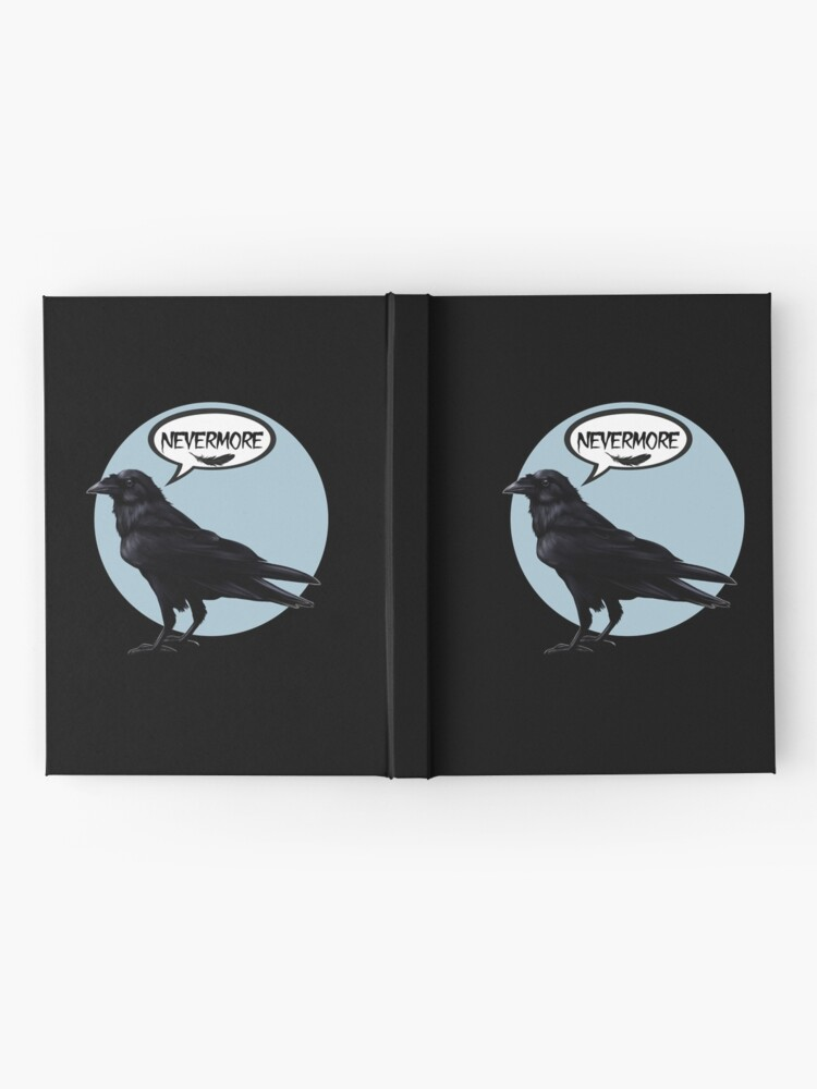 Alternate view of Nevermore raven Hardcover Journal