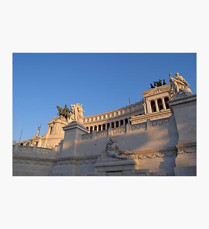Monument to Vittorio Emanuele - Detail Photographic Print