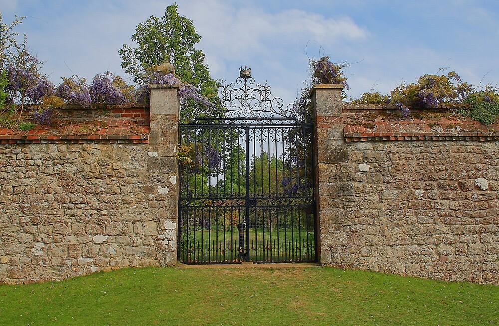 Garden Gate - Knole by Dave Godden