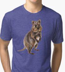 Cute little quokka Tri-blend T-Shirt