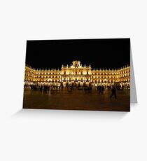 Plaza Major, Salamanca Greeting Card