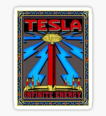 TESLA COIL - INFINITE ENERGY Sticker