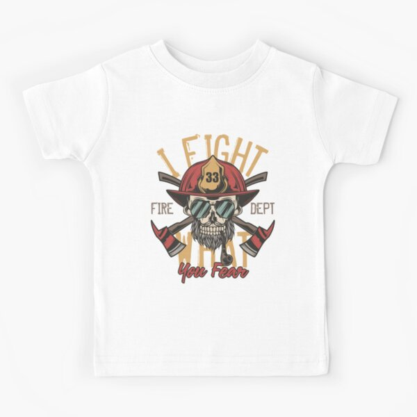 I Fight What You Fear Kids T-Shirt