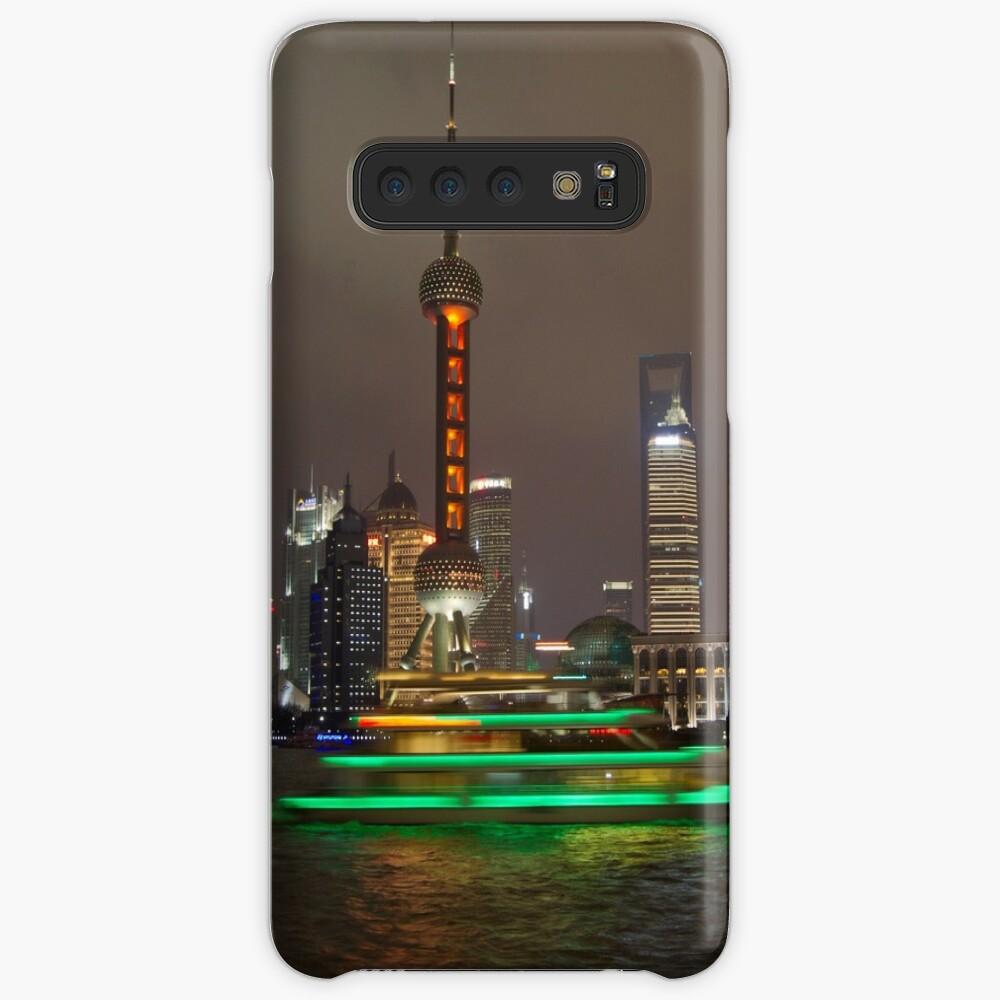 Green Boat Case & Skin for Samsung Galaxy
