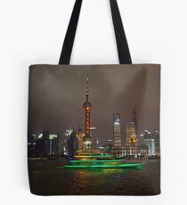 Green Boat Tote Bag