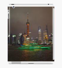 Green Boat iPad Case/Skin