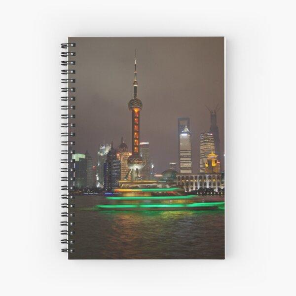 Green Boat Spiral Notebook