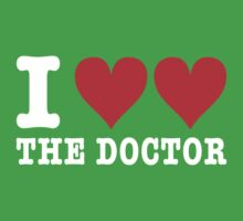 TShirtGifter Presents: I heart heart the doctor