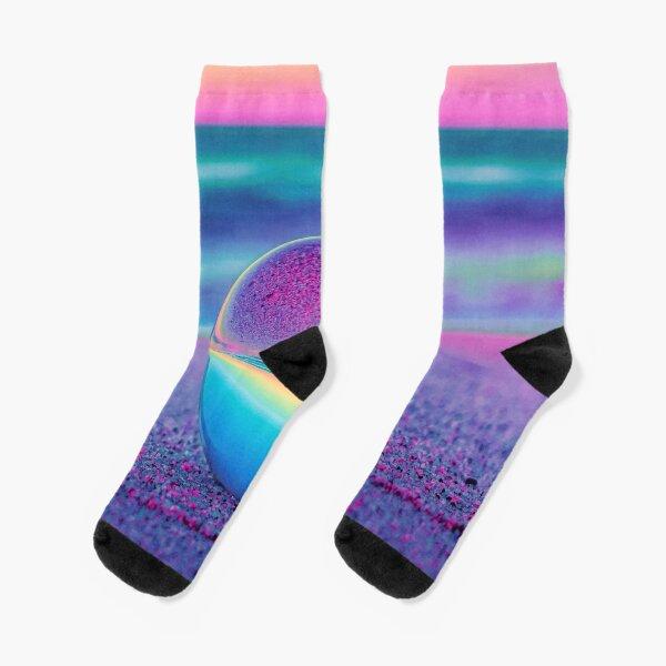 Sunset Lensball Socks