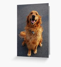 That Golden Smile Greeting Card
