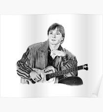 John Denver Portrait Poster