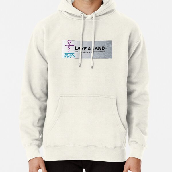 Lake and Land  Pullover Hoodie