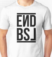 End BSL Text (Black) T-Shirt