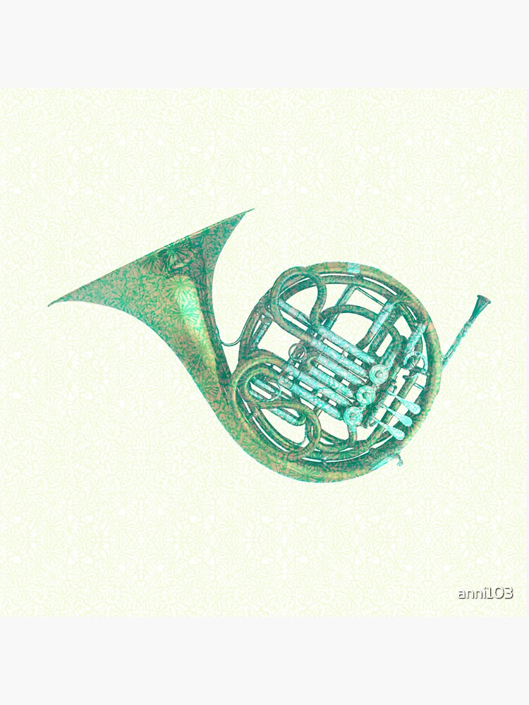Floral notes with the French Horn  by anni103
