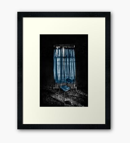 Tormented in Grace Framed Print