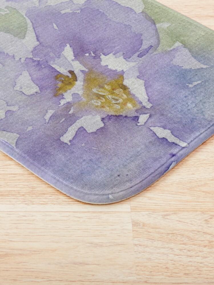 Alternate view of Watercolour Flowers Nr 153 Bath Mat