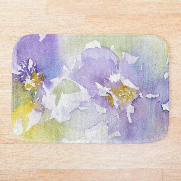 Watercolour Flowers Nr 153 Bath Mat