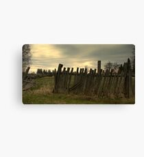 For  Fence Lovers.................... Canvas Print