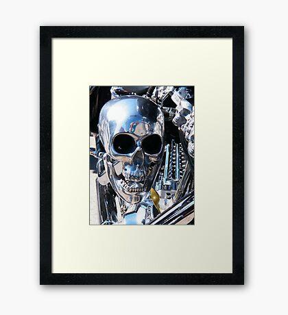 Skull Machine 2 Framed Print
