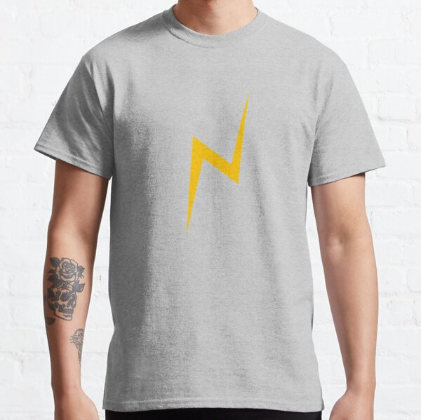 Lightning bolt (yellow) Classic T-Shirt