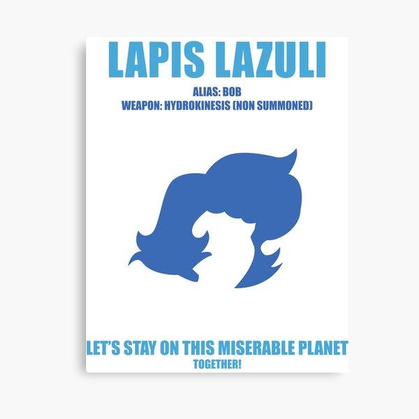 Steven Universe - Lapis Lazuli Canvas Print