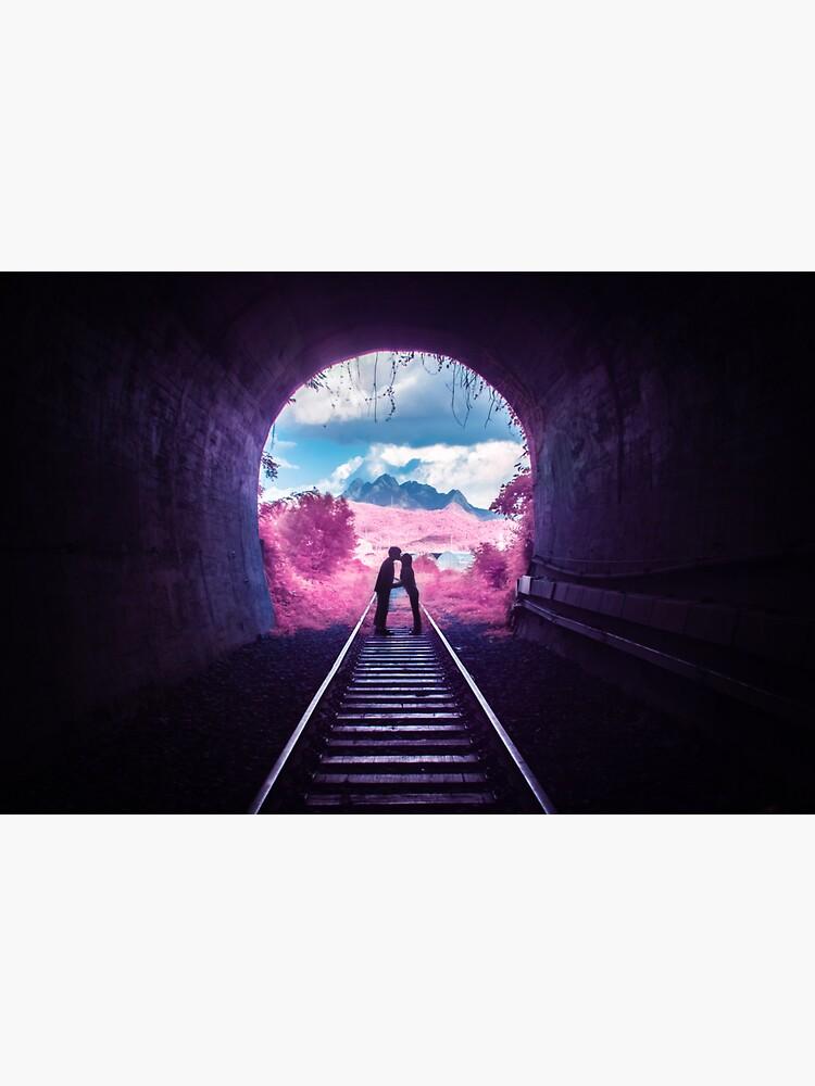 Pink Tunnel by noealz