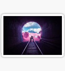 Pink Tunnel Sticker