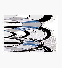 Records Abstract Photographic Print