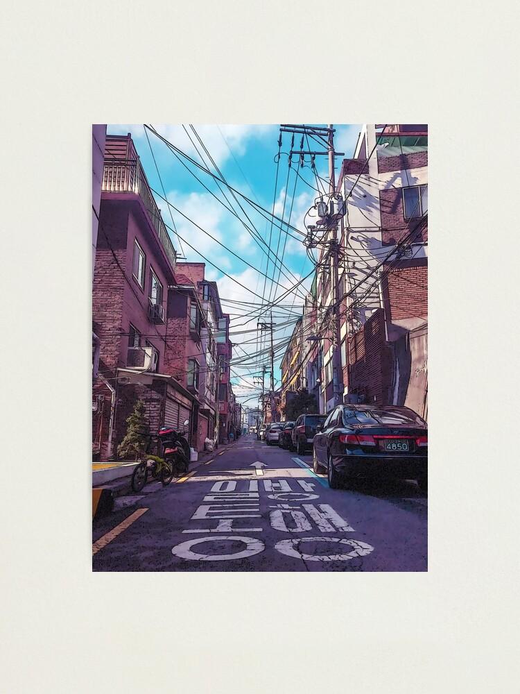 Alternate view of Seoul Neighborhood Photographic Print