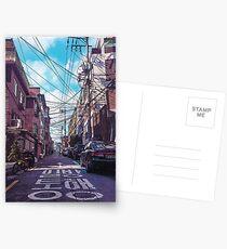 Seoul Neighborhood Postcards