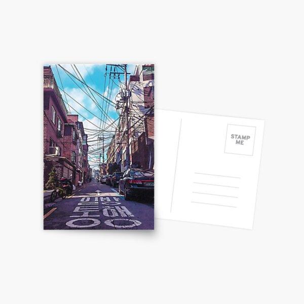 Seoul Neighborhood Postcard