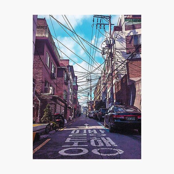 Seoul Neighborhood Photographic Print