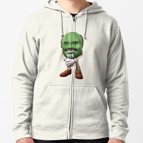 Dr Phil M&M Zipped Hoodie